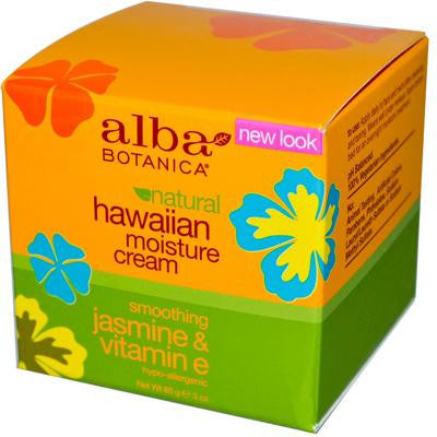 Picture of Alba Botanica Hawaiian Moisture Cream Jasmine and Vitamin E - 3 oz