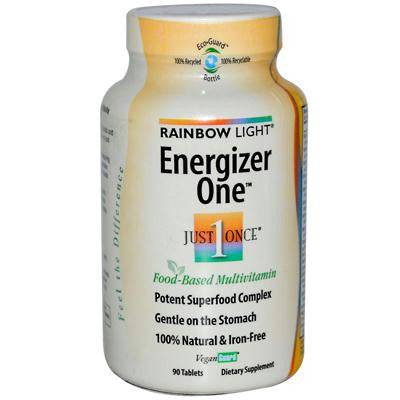 Picture of Rainbow Light Energizer One Multivitamin - 90 Tablets