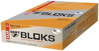 Picture of Clif Bar Clif Shot Bloks - Organic Orange - Case of 18 - 2.1 oz