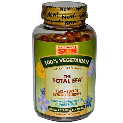 Picture of Health From the Sun The Total EFA - 90 Vegetarian Softgels
