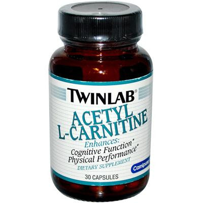 Picture of Twinlab Acetyl L-Carnitine - 500 mg - 30 Capsules