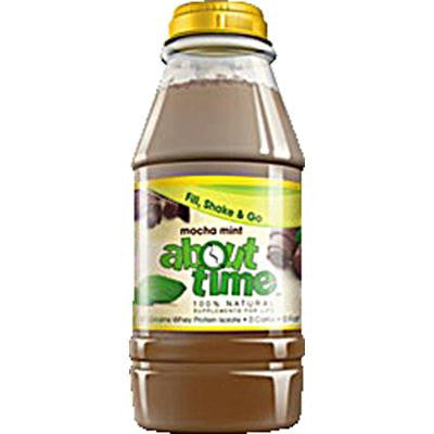 Picture of About Time Fill Shake and Go Mocha Mint - 31 grams of Protein