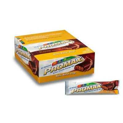 Picture of Promax Energy Bar - Nutty Butter Crisp - Case of 12 - 2.64 oz