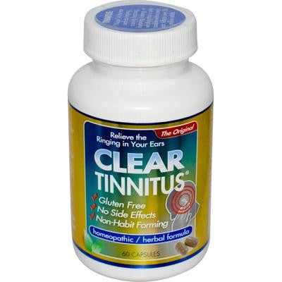 Picture of Clear Products Clear Tinnitus - 60 Capsules