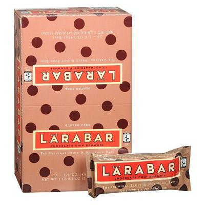 Picture of LaraBar - Chocolate Chip Brownie - Case of 16 - 1.6 oz