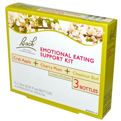 Picture of Bach Original Flower Essences Emotional Eating Support Kit - 3 Bottles - 10 ml