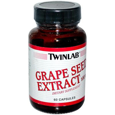 Picture of Twinlab Grape Seed Extract - 100 mg - 60 Capsules