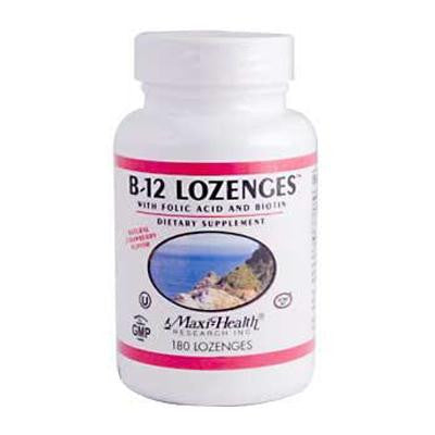 Picture of Maxi Health B12 Lozenges - 180 Lozenges