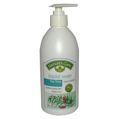Picture of Nature's Gate Liquid Soap Velvet Moisture Tea Tree - 16 fl oz