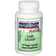 Nutrient Carriers Advanced Research 2AEP Calcium - 100 Vegetarian Capsules