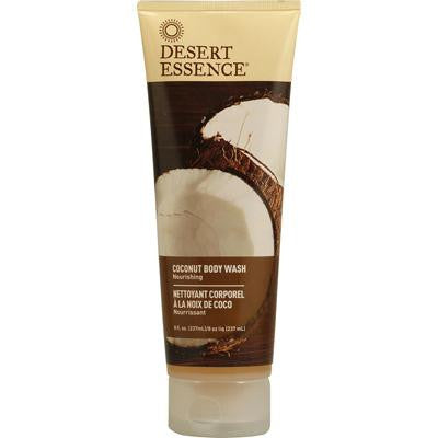 Picture of Desert Essence Body Wash Coconut - 8 fl oz