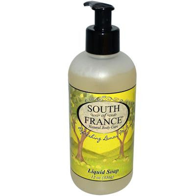 Picture of South of France Liquid Soap Refreshing Lemon Mint - 12 fl oz