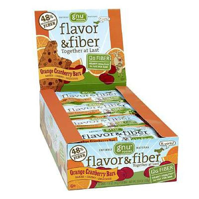 Picture of Gnu Foods Flavor and Fiber - Orange Cranberry - Case of 16 - 1.6 oz