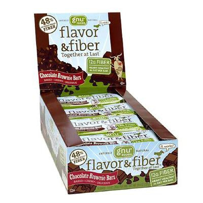 Picture of Gnu Foods Flavor and Fiber - Chocolate Brownie - Case of 16 - 1.6 oz