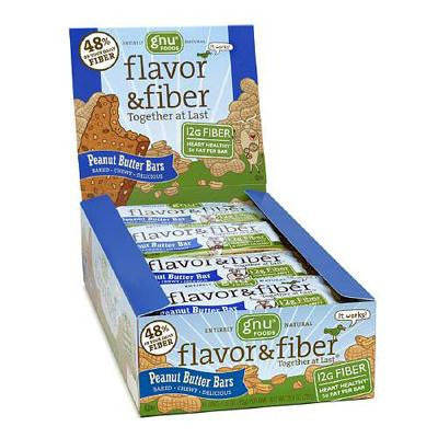 Picture of Gnu Foods Flavor and Fiber - Peanut Butter - Case of 16 - 1.6 oz