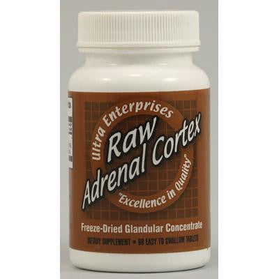 Picture of Ultra Glandulars Raw Adrenal Cortex - 60 Tablets
