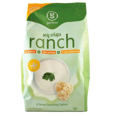 Picture of Genisoy Soy Crisps - Creamy Ranch - 3.85 oz - Case of 12