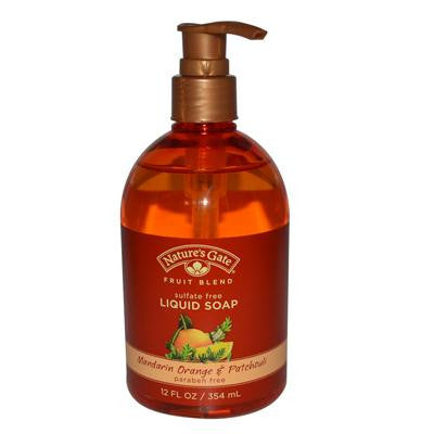 Picture of Nature's Gate Organics Liquid Soap Mandarin Orange and Patchouli - 12 fl oz