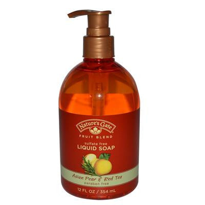 Picture of Nature's Gate Organics Liquid Soap Asian Pear and Red Tea - 12 fl oz