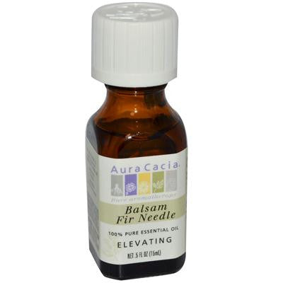 Picture of Aura Cacia 100% Pure Essential Oil - Balsam Fir Needle - Elevating - .5 fl oz