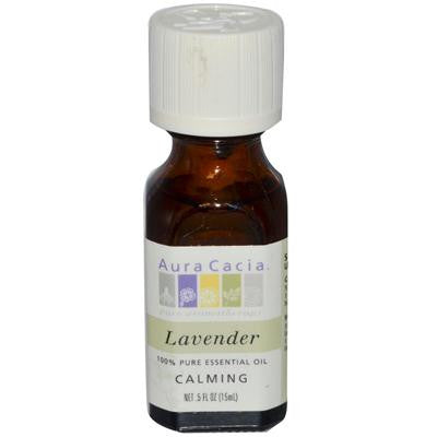 Picture of Aura Cacia Pure Essential Oil Lavender - 0.5 fl oz