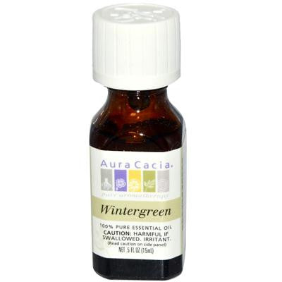 Picture of Aura Cacia Pure Essential Oil Wintergreen - 0.5 fl oz