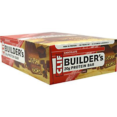 Picture of Clif Bar Builder Bar - Chocolate - Case of 12 - 2.4 oz