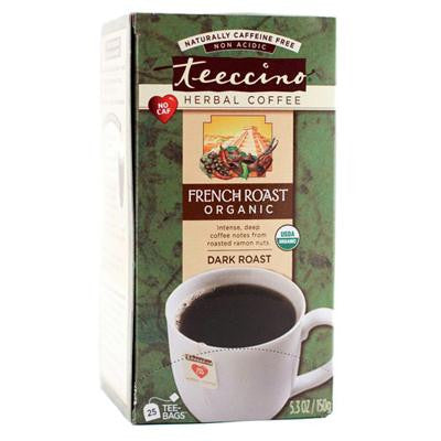 Picture of Teeccino French Roast Herbal Coffee Dark Roast - 10 Tea Bags - Case of 6