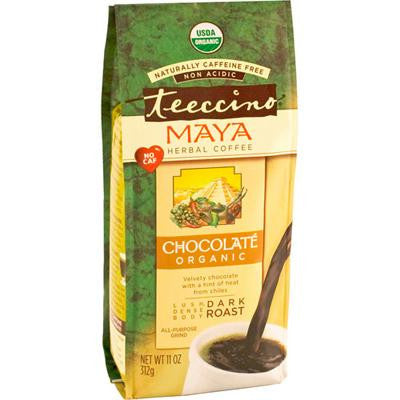 Picture of Teeccino Organic Tee Bags - Chocolate Herbal - 10 Bags