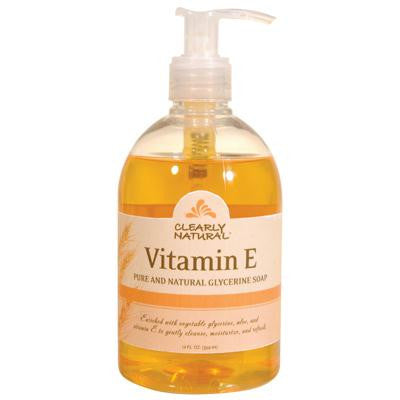 Picture of Clearly Natural Pure and Natural Glycerine Hand Soap Vitamin E - 12 fl oz