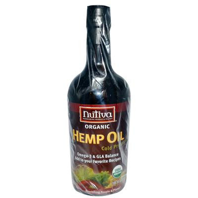 Picture of Nutiva Organic Hemp Oil - 16 fl oz