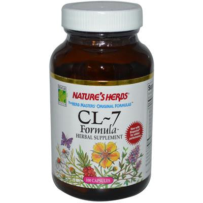Picture of Nature's Herbs CL-7 Formula - 100 Capsules
