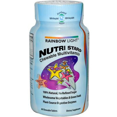 Picture of Rainbow Light NutriStars Delicious Fruit Blast - 60 Chewable Tablets