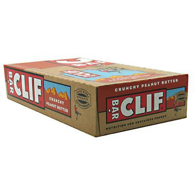 Picture of Clif Bar - Organic Crunch Peanut Butter - Case of 12 - 2.4 oz