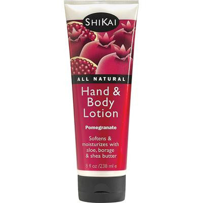 Picture of Shikai All Natural Hand And Body Lotion Pomegranate - 8 fl oz
