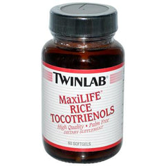 Twinlab MaxiLIFE Rice Tocotrienols - 50 mg - 60 Softgels
