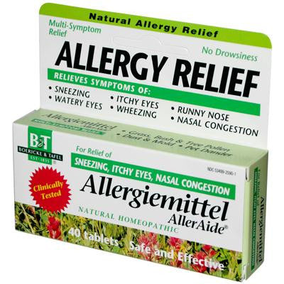 Picture of Boericke and Tafel Allergiemittel AllerAide - 40 Tablets