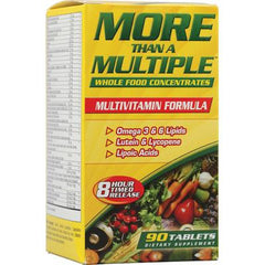 American Health More Than A Multiple Whole Food Concentrates - 90 Tablets