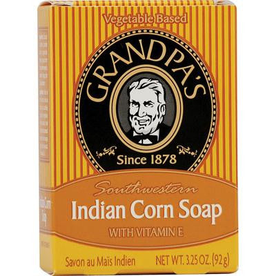 Picture of Grandpa's Southwestern Indian Corn Soap with Vitamin E - 3.25 oz