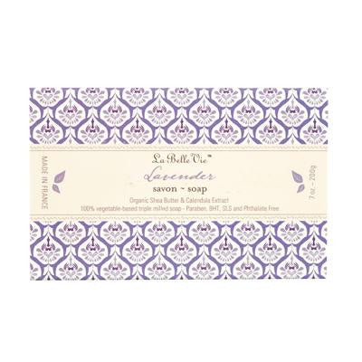 Picture of La Belle Vie Bar Soap - Lavender - 7 oz