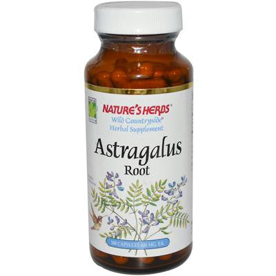Picture of Nature's Herbs Astragalus - 400 mg - 100 Capsules