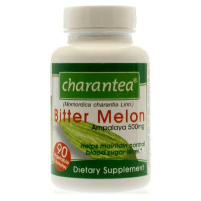 Picture of Charantea Bitter Melon - 500 mg - 90 Vegetarian Capsules