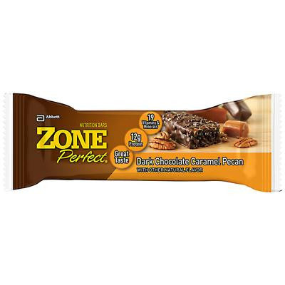 Picture of Zone Nutrition Bar - Dark Chocolate Caramel - Case of 12 - 45 Grams
