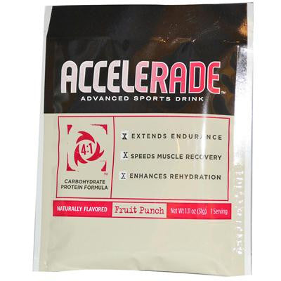 Picture of Endurox Pacific Health Inc. Accelerade Advance Sports Drink - Fruit Punch - 1.11 oz - 1 Serving