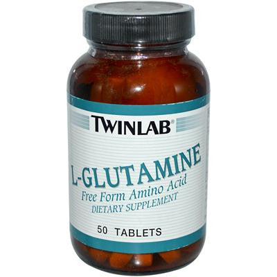 Picture of Twinlab L-Glutamine - 1000 mg - 50 Tablets