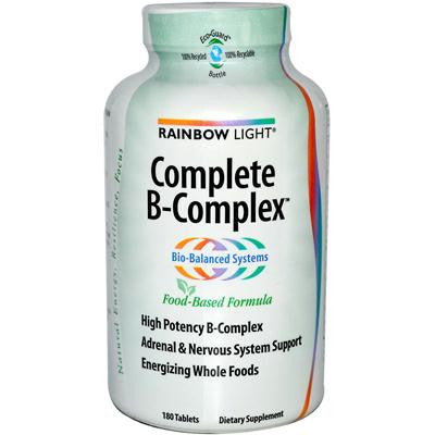 Picture of Rainbow Light Complete B-Complex - 180 Tablets