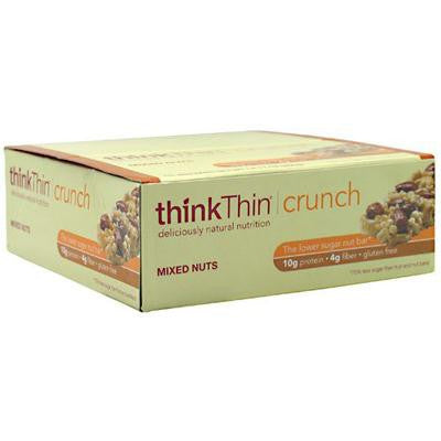 Picture of Think Products Thin Crunch Bar - Mixed Nuts - Case of 10 - 1.41 oz