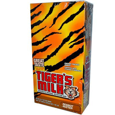Picture of Tigers Milk Bar - Peanut Butter - 1.23 oz - Case of 24