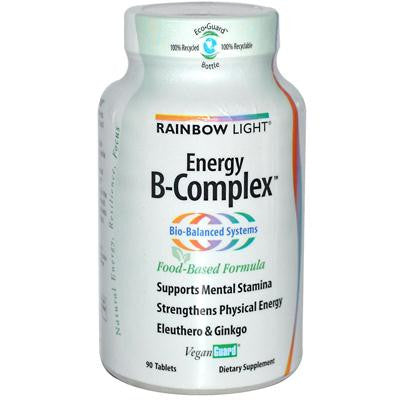 Picture of Rainbow Light Energy B-Complex - 90 Tablets
