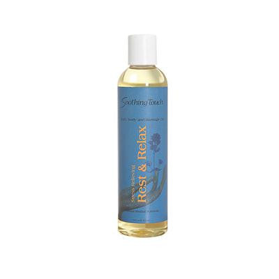 Picture of Soothing Touch Bath and Body Oil - Rest/Relax - 8 oz